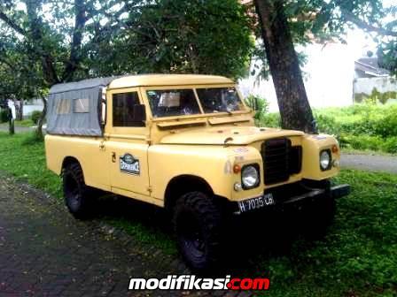 Dijual Land Rover Long Batok Seri 3