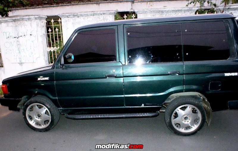 Toyota Kijang Rover 88/89 Hijau Murah