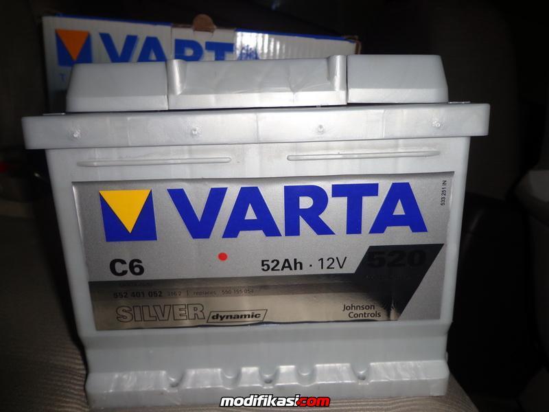 Jual Accu Varta 55201 Silver Dynamic 52 Ah (100% NEW ...