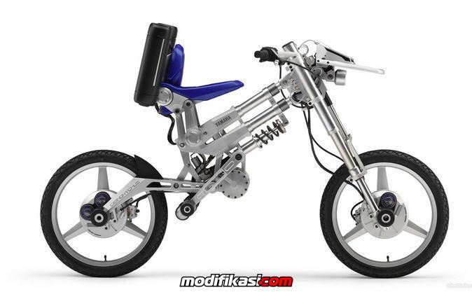 Kombinasi Menarik Antara Sepeda Dengan Sepeda Motor