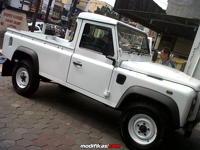 Thread  FS  New Land Rover Defender 110 Pick Up Putih
