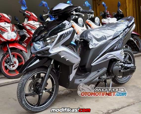 modifikasi mio gt 125 eagle eye  paling bagus