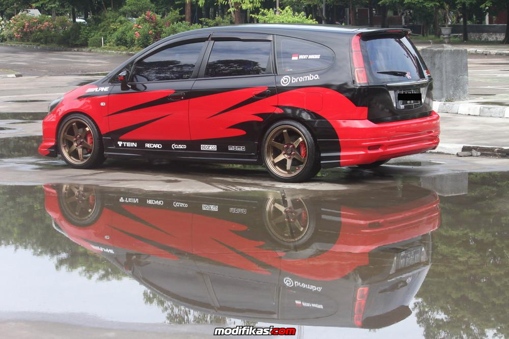 Honda Stream Indonesia Solo Raya Simple Red Rally