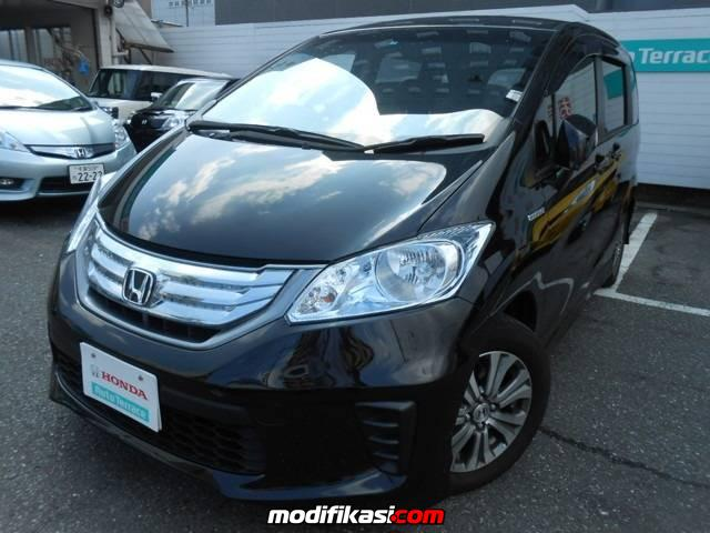 all new honda freed 2014 masih gunakan basis honda jazz