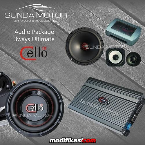 Baru Paket Audio Cello 100 Denmark Technology By Sunda Motor