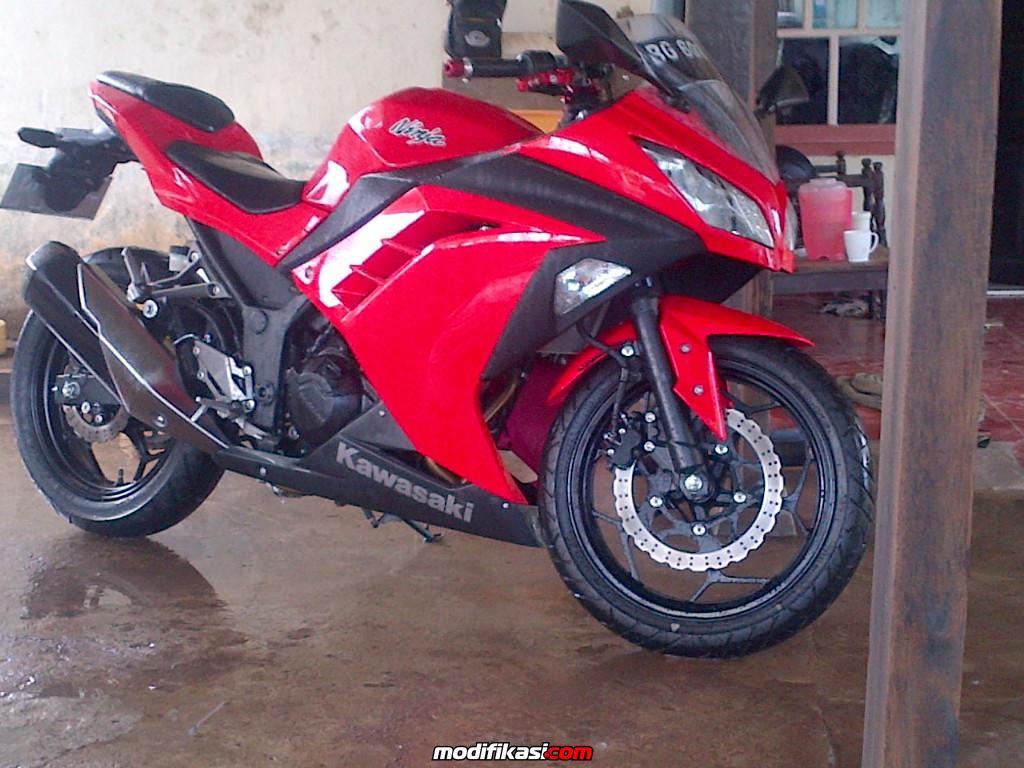 Bekas Wts Kawasaki Ninja 250fi 2013 Merah