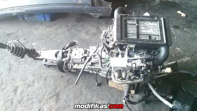 Bekas For Sale Suzuki K6A Engine + 5 Speed M/T (ECU + WIRING)