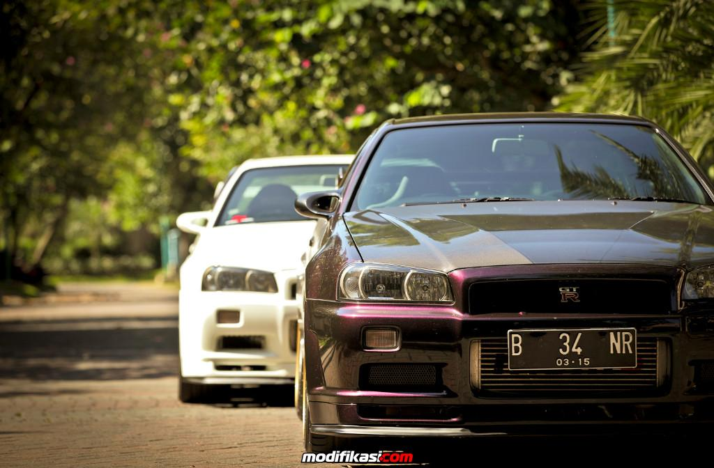 Nissan Skyline GTR R34 + Mitsubishi Evo 9 MR (SPEED FREAK)