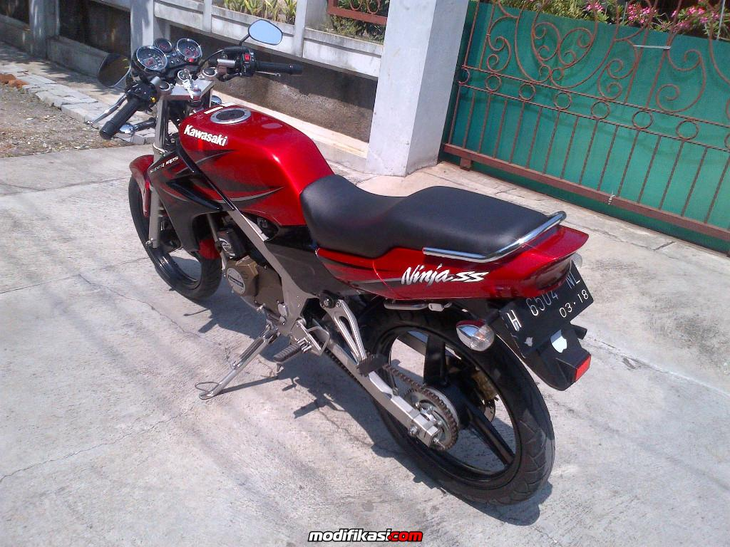 referensi modifikasi ninja ss warna merah