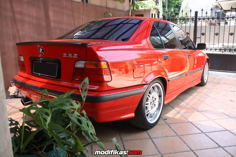 bmw e36 323i red on red bmw motorsport 10 spoke. Black Bedroom Furniture Sets. Home Design Ideas