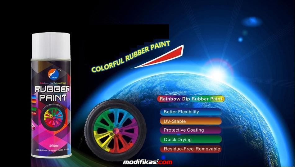 Jual Rubber Paint Rainbow Dip Rubber Paint