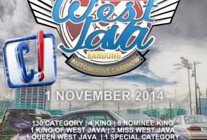 West Java Automotive Car Show // Bandung, 1 November 2014