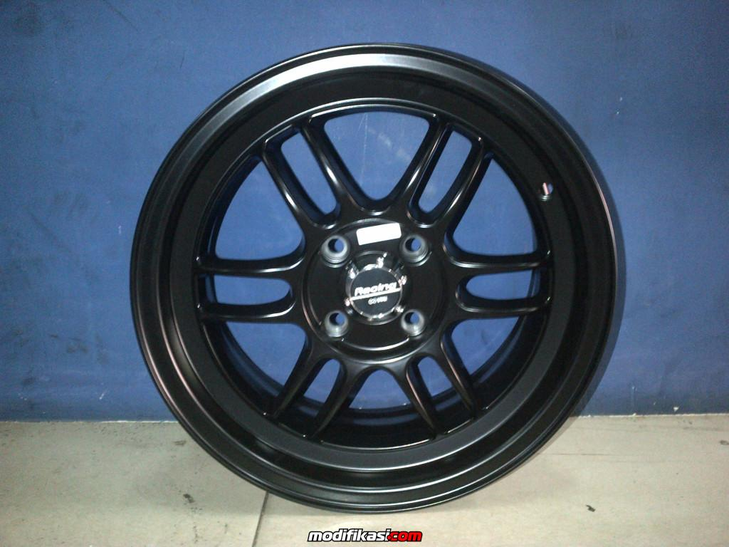 Baru VELG RECING RPF-01 HSR R.15X6,5 HOLE 4 VCD 100 ET.35