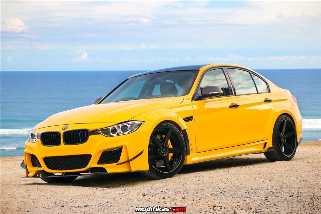 The European Beauty Rio S Sunset Yellow Bmw F30