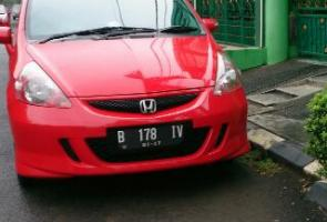 Rally Red Jazz Gd3 Vtec