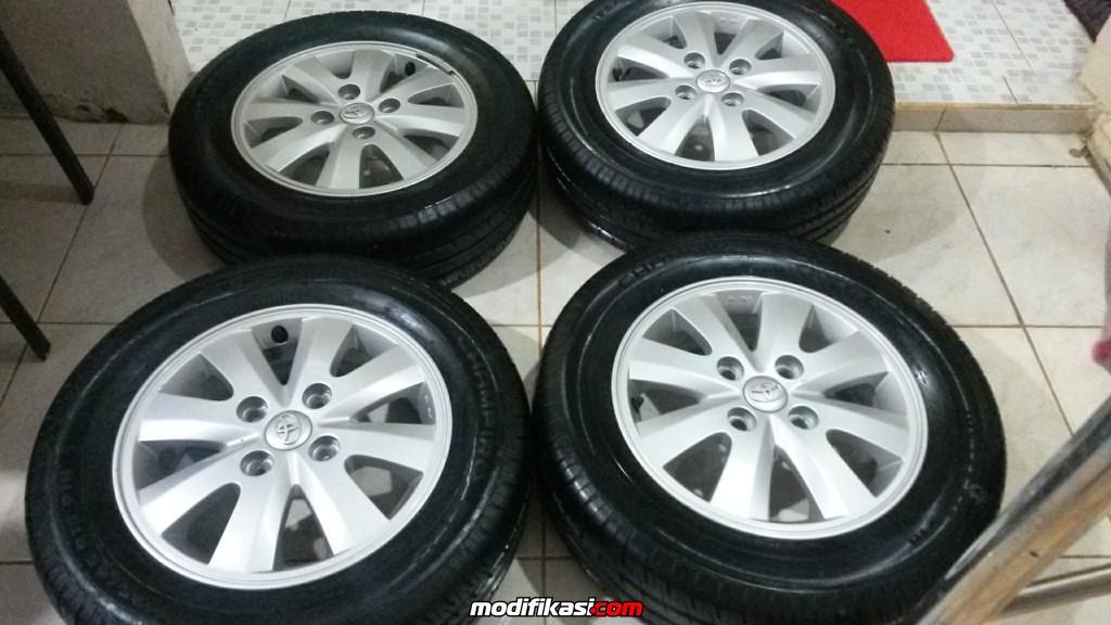 Honda Official Site >> Bekas VELG MOBIL OEM TOYOTA AVANZA S R-15