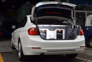BMW F30 Cartens Autosound, Sempurna Pertahankan Sisi Original
