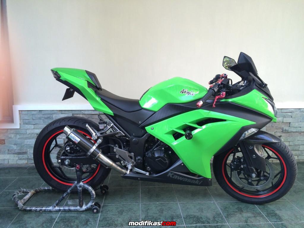 Top modifikasi ninja 250 fi hijau