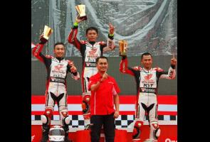 Yuasa Kepercayaan Para Juara, Astra Motor Racing Team Naik Podium