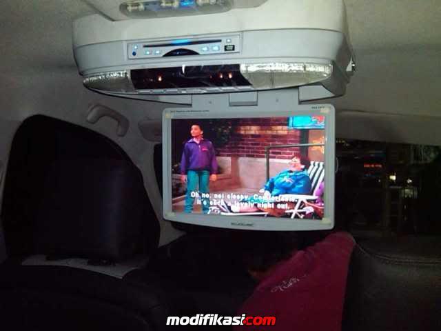 Baru Monitor Tv Roof Plafon Mobil