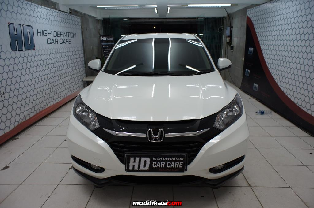 Muarakarang Indonesia  city photos gallery : White Honda HRV after nano coating