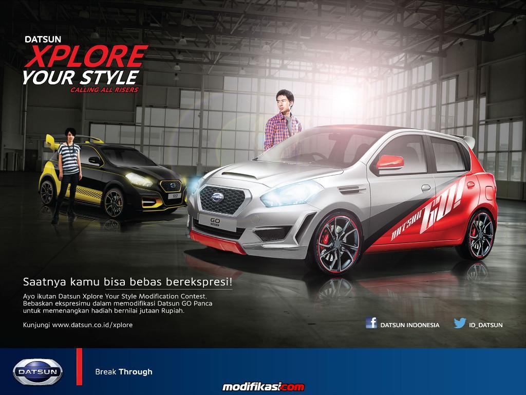 Tunjukkan Hasil Modifikasi Datsunmu Di Datsun Xplore Your Style
