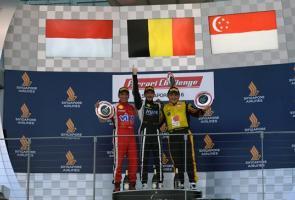 Pebalap Indonesia Raih Podium Kedua Di Ferrari Challenge Seri 5