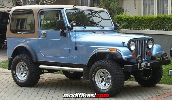 1981 Amc Jeep Cj7 Sahara Edition