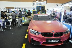 Teckwrap,  Rubah Warna Mobil Lebih Eye Catching