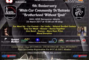4th Anniversary Wcc De'Batavia // Brotherhood Without Limit