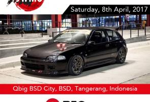 Japanese Wheels Meet Up 2 (Jwmu 2) - Q Big Bsd, Sabtu, 8 April 2017