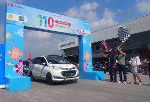 Daihatsu Lepas 125 Keluarga Sahabat Daihatsu Mudik