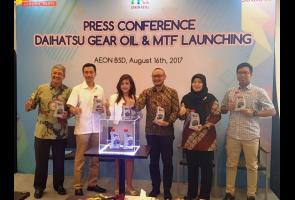 Daihatsu Luncurkan Genuine Oli Transmisi & Gear