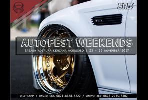 Wonosobo Autofest Weekends