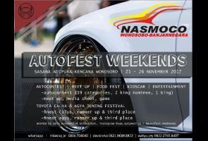 Wonosobo Autofest Weekends
