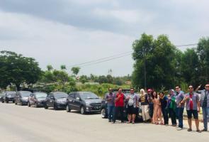 Rayakan Hut Pertama, Gci Tangsetan Gelar Touring Pendek Ke Anyer