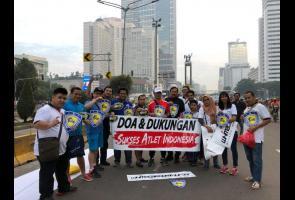 Imi & Komunitas Mobil Gelar Acara Dukung Atlet Indonesia