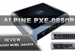Video : Review Alpine Pxe-0850p Hanya 1 Di Indonesia 12 Channel Dsp