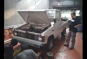 Renovasi Kiko'1984 Pick Up From 0 To...