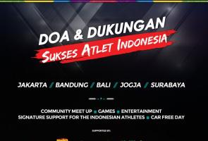 Meet Up Komunitas Mobil Di Surabaya Dukung Atlet Indonesia