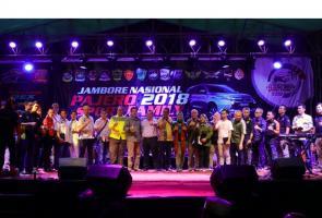 Pajero Sport Family Satu Suara Dukung Asian Games 2018