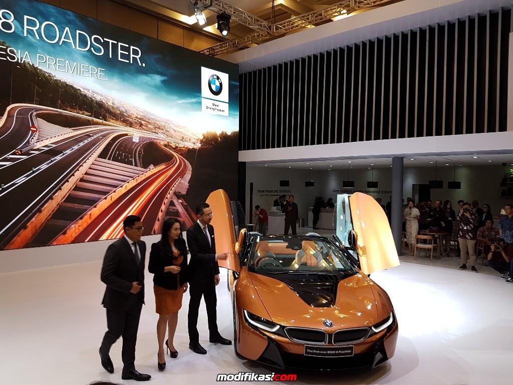 Dunia Berita Bmw I8 Roadster Meluncur Di Giias Dengan Harga Rp 3 9