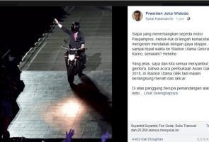Ini Spesifikasi Yamaha Yz1 Yang Dipakai Jokowi Saat Asian Games.
