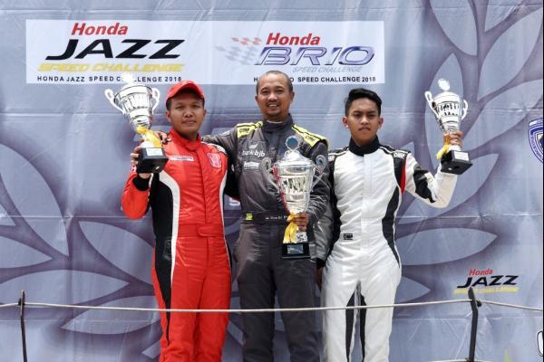 Fitra Eri Tercepat Di Honda Jazz Speed Challenge Seri 5
