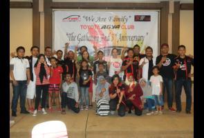 Happy 3rd Anniversary Birthday, Toyota Agya Club Ngapak-R