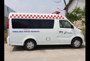 Begini Tampang Dfsk Super Cab Yang Jadi Ambulance