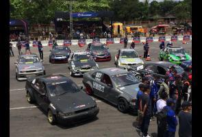 Kota Yogyakarta Jadi Penutup Gelaran Intersport Battle Drift 2018