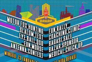 Bekasi Patriot Amateur Radio Fair 2019