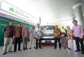 Toyota Donasikan Hiace Guna Mendukung Konservasi Keragaman Hayati