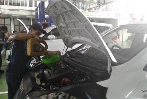 Bantu Pasca Gempa Lombok, Suzuki Gelar Free Service
